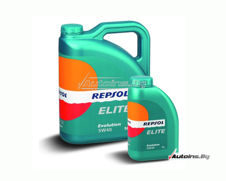 Repsol ELITE EVOLUTION 5W40 - 5 литра