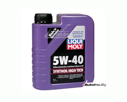 Liqui Moly Synthoil High Tech 5W40 - 1 литър