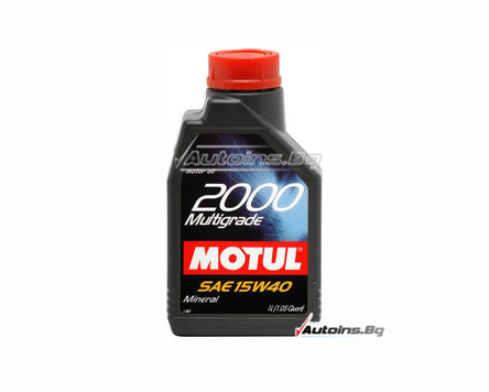 Motul 2000 Multigrade 15W40 - 1 литър