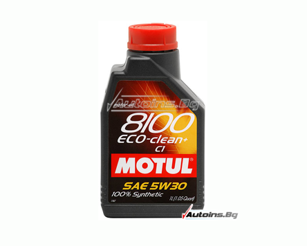 Motul 8100 ECO-Clean+ 5W30 - 1 литър
