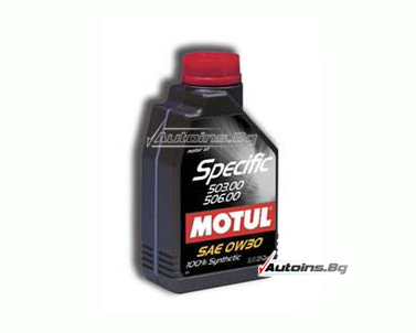 Motul Specific VW 506.01-506.00-503.00 0W30 - 1 литър