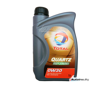 TOTAL QUARTZ 9000 ENERGY 0W30 - 1 литър