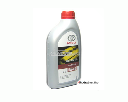 Toyota 5W40 Synthetic Engine Oil - 1 литър