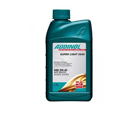 Addinol Super Light 0540 5W40 - 1 литър
