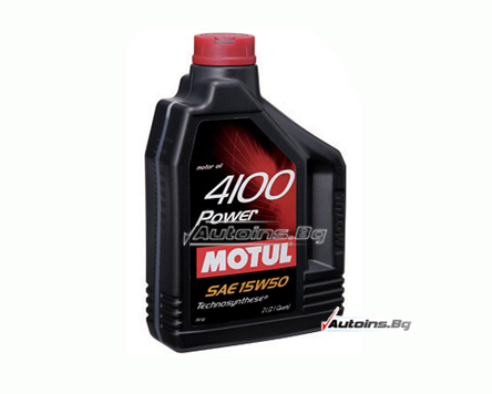 Motul 4100 Power 15W50 - 2 литра