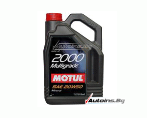 Motul 2000 Multigrade 20W-50 - 4 литра