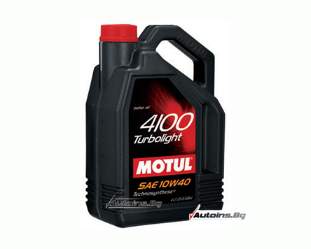 Motul 4100 Turbolight 10W40 - 5 литра