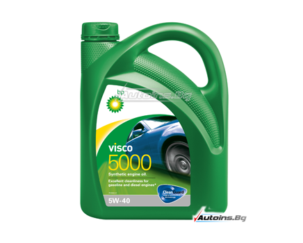 BP VISCO 5000 5W40 - 4 литра