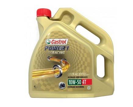 CASTROL POWER 1 RACING 4T 10W50 - 4 литра