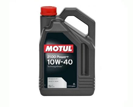 Motul 2100 POWER+ 10W40 - 4 литра
