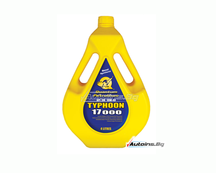Quantum Petroleum Typhoon 17000 10W-40 - 4 литра