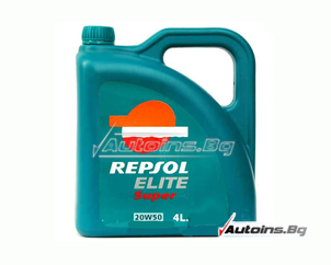 Repsol ELITE SUPER 20W50 - 4 литра