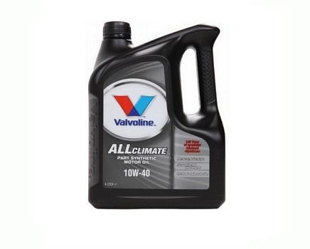 VALVOLINE ALL CLIMATE 10W40 - 4 литра