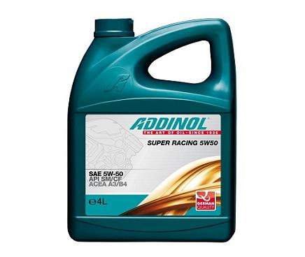 Addinol Super Racing 5W50 - 4 литра