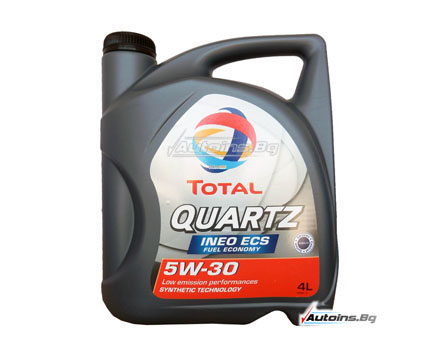 TOTAL QUARTZ INEO ECS 5W30 - 4 литра