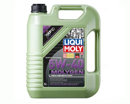 Liqui Moly New Generation Molygen 5W-40 - 5 литра