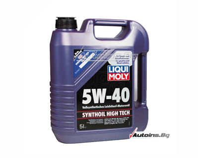 Liqui Moly Synthoil High Tech 5W40 - 5 литра
