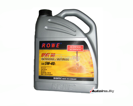 ROWE HIGHTEC SYNT RS 5W-40i - 5 литра