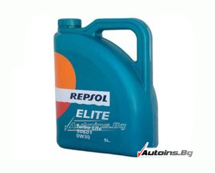 Repsol Elite TURBO LIFE 0W30 - 5 литра