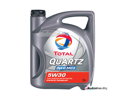 TOTAL QUARTZ INEO MC3 5W-30 - 5 литра