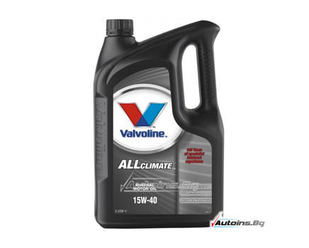 VALVOLINE ALL CLIMATE 15W40 - 5 литра