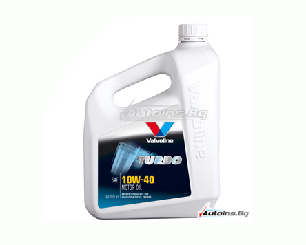 VALVOLINE TURBO 10W40 - 5 литра