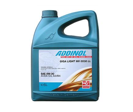 Addinol Giga Light MV 0530 LL 5W30 - 5 литра