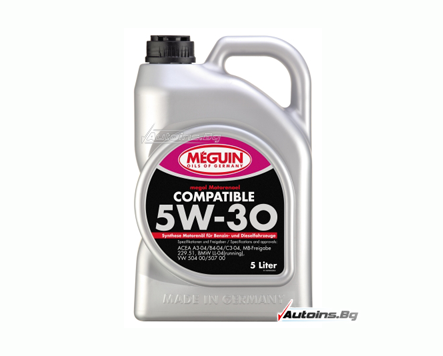 Meguin Compatible 5W30 - VW 50400/50700 - 5 литра