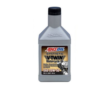 AMSOIL V Twin Motorcycle Oil 20W50 - 946 ML