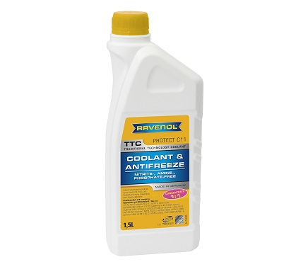 Антифриз RAVENOL TTC Protect C11 Concentrate - 1.5 Литра