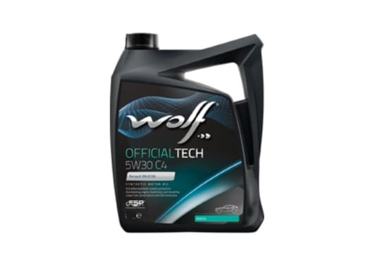 WOLF OFFICIALTECH C4 5W-30 - 4 литра