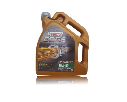 CASTROL EDGE SUPERCAR 10W60 - 5 литра