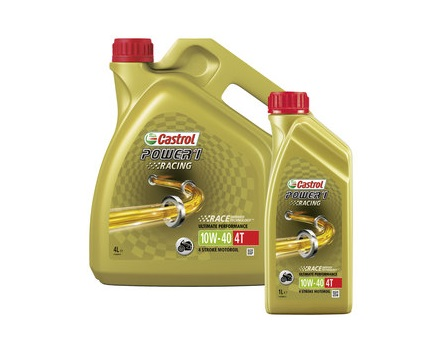 CASTROL POWER 1 RACING 4T 10W40 - 4 литра