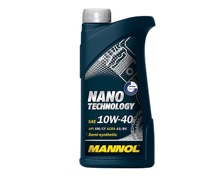 MANNOL NANO TECHNOLOGY 10W40 - 1 Литър