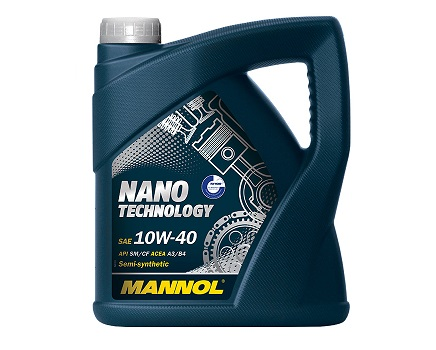 MANNOL NANO TECHNOLOGY 10W40 - 4 Литра
