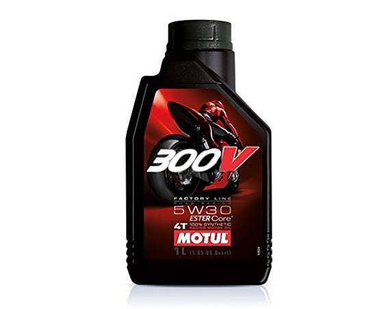 MOTUL 300V FACTORY LINE ROAD RACING 5W30 - 4 Литър