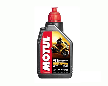 MOTUL SCOOTER POWER 4T MB 10W30 - 1 Литър
