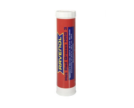 Грес RAVENOL Hot Red Grease HRG 3 - 0.400 kg