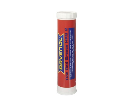 Грес RAVENOL Hot Red Grease HRG 2 - 0.400 kg