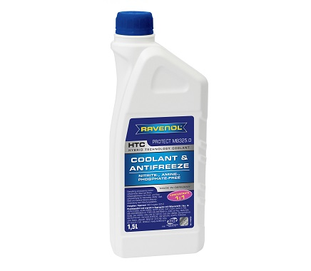 Антифриз RAVENOL HTC Hybrid Technology Coolant Concentrate - 1.5 Литра